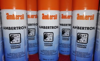 Ambersil AMBERTRON CONTACT CLEANER UK DRY 400ML FOR ELECTRONIC EQUIPMENT