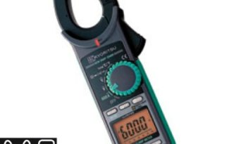 Digital AC / DC Clamp Meter - 2046R Pakistan