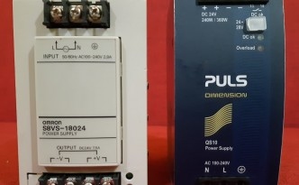 Rail Mounting Power Supplies Omron, Siemens, Puls & MeanWell